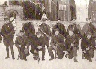 """Antoni Rymsza ''Maks"""" (z lewej)"""