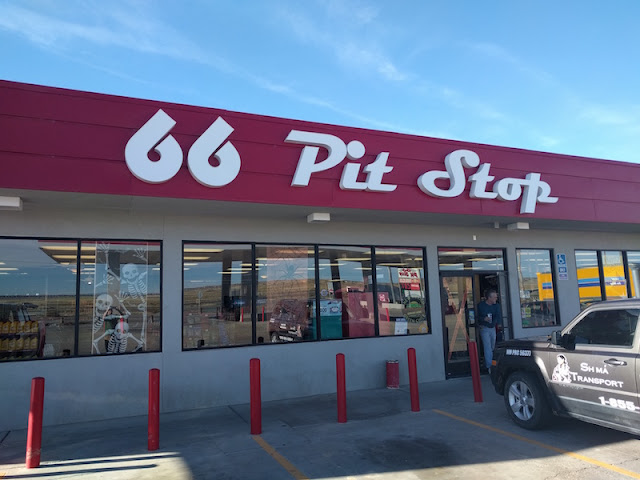 66 Pit Stop just west of Albuquerque