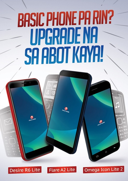 Upgrade Your Basic Phone to a New Cherry Mobile Smartphone with Cherry Switch