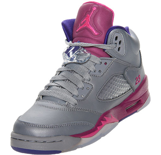 cc681115c1bc ... low price this girls air jordan 5 retro gs comes in a cement grey pink  foil
