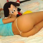 Selena Spice Camiseta Azul, Cachetero Azul, Elmo Comegalletas Foto 98