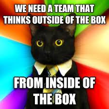 私たちには、従来の考え方にとらわれずに創意工夫できるチームが必要だ。