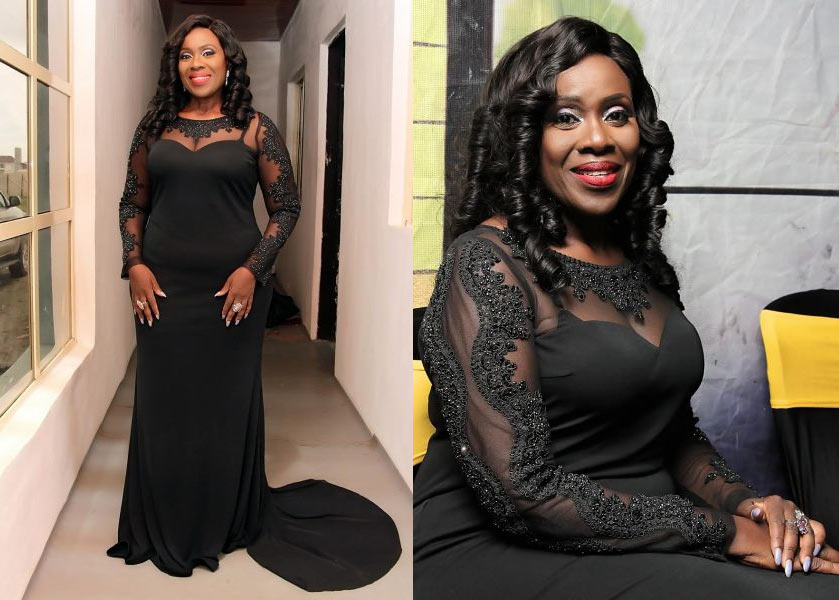 Joke Silva looks ever young as she steps out for event