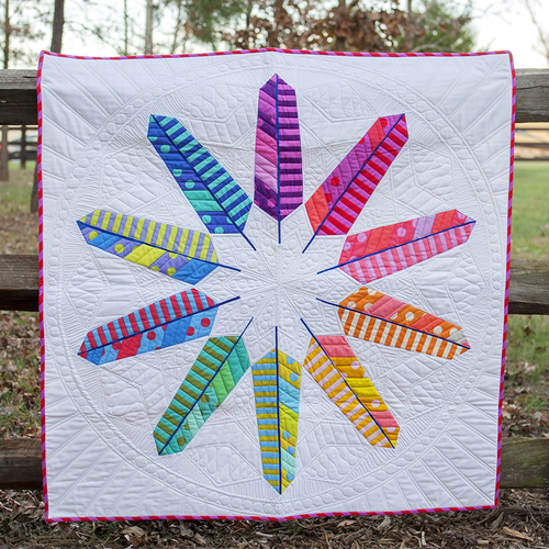 Flock Together Quilt Designed by Stacey Day for FreeSpirit featuring All Stars by Tula Pink Collection