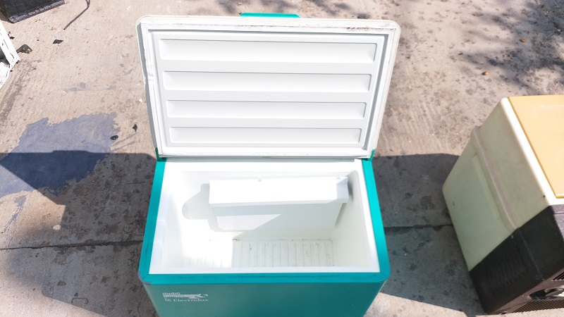 Lada frigorifica marca Electrolux