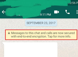 WhatsApp Encryption Example