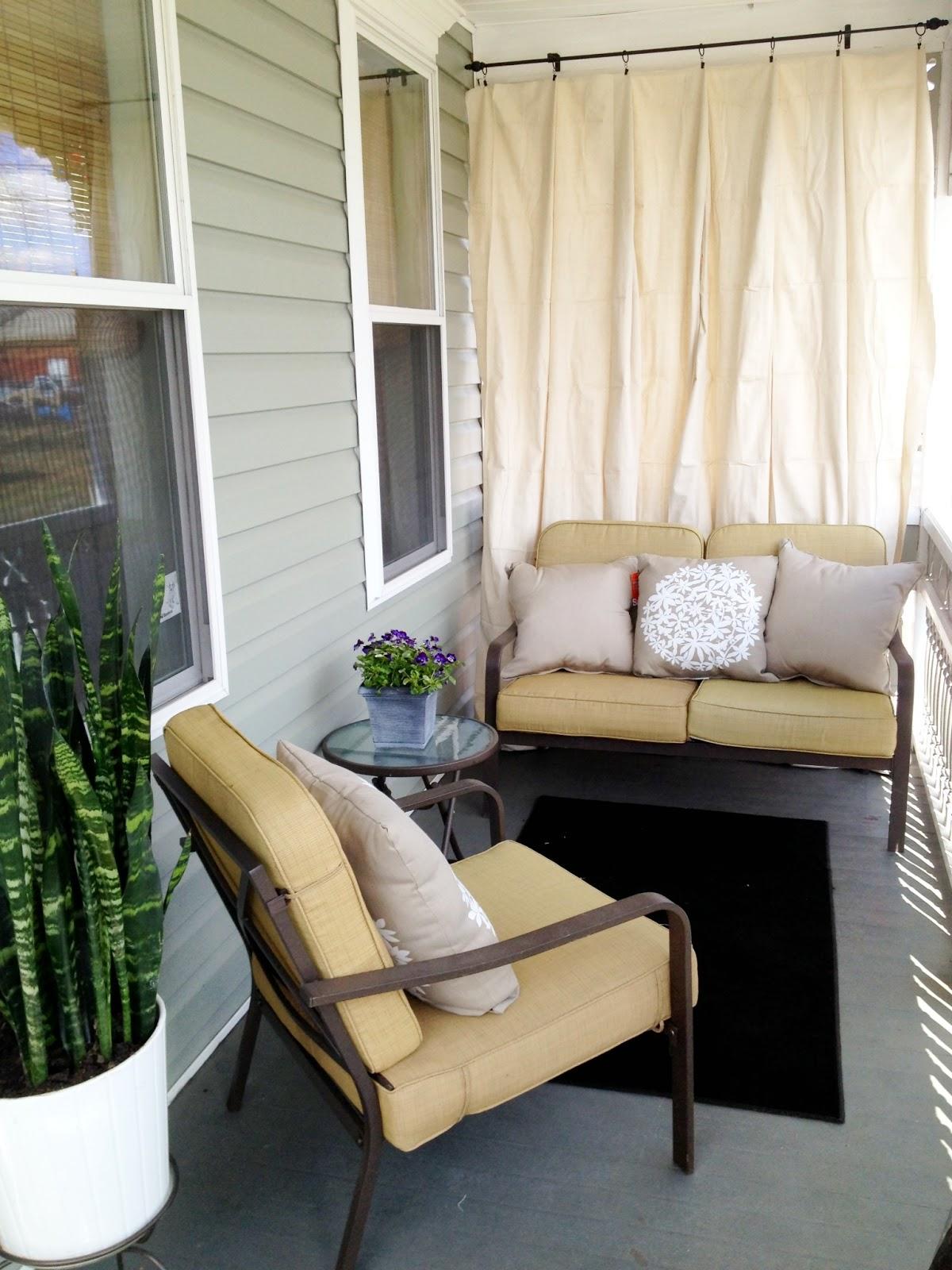 DIY Outdoor Curtain