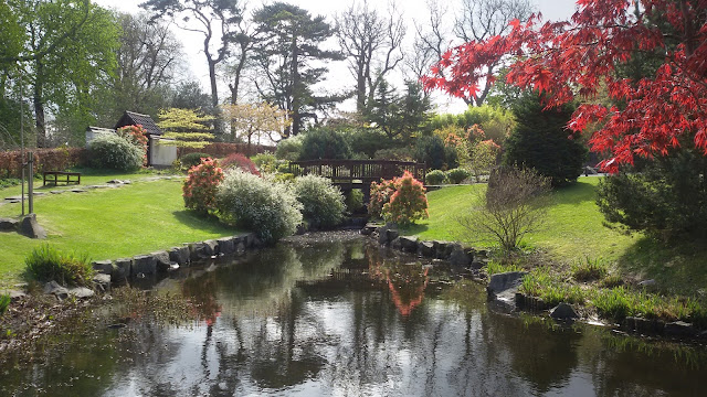 Castillo Lauriston Edimburgo Jardin Japones