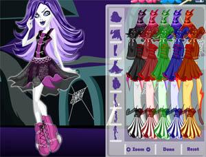Juegos Monster High Vestir Monster High Spectra Lorena Games