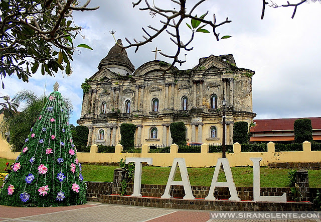 Taal Basilica is one of the Tourist spots in Batangas