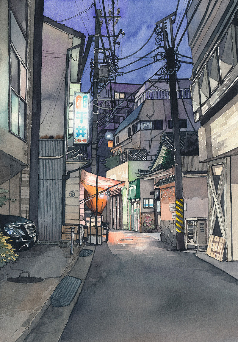 Tokyo At Night Paintings By Mateusz Urbanowicz 3x3 Super Set Circuit Workout Working It Out Pinterest Share To Facebook Linkedin Twitter Flipboard Google Reddit More