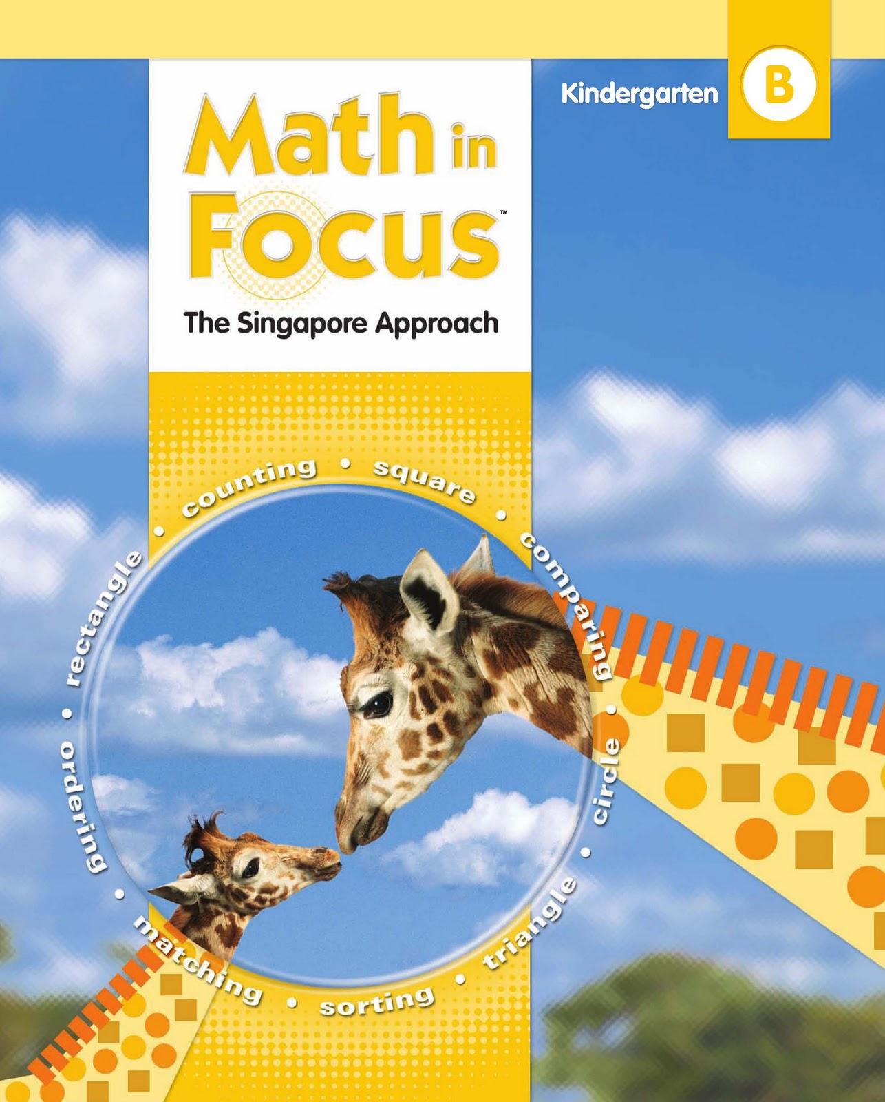 Free Download Ebook Math In Focus Kindergarten B