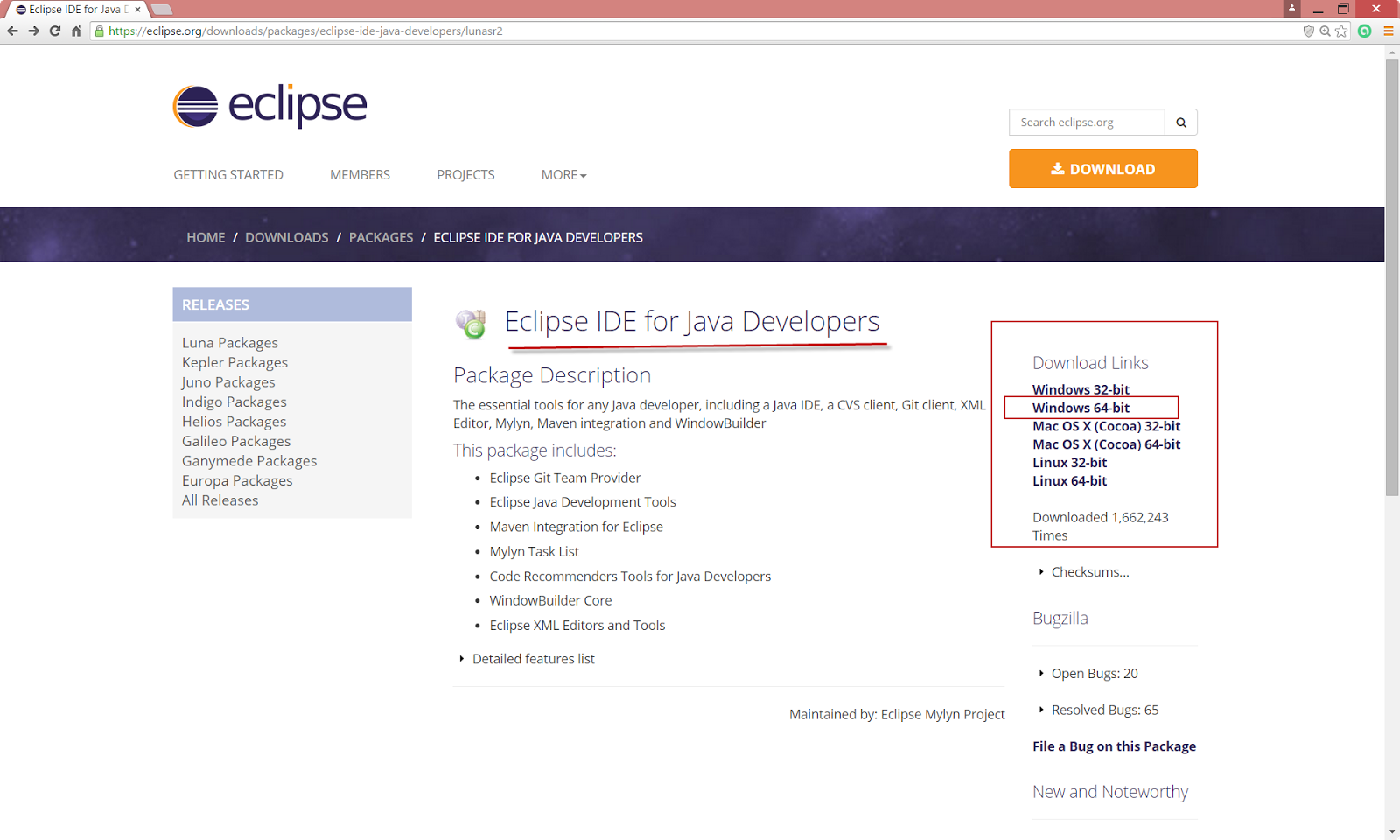Java 1 01 Download and installing Eclipse IDE to write Java Programs
