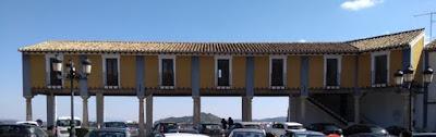 Soportales de la Plaza del Castillo de Cehegín.