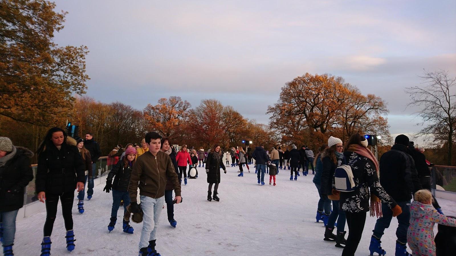 Alnwick Gardens Ice Skating Garden Ftempo