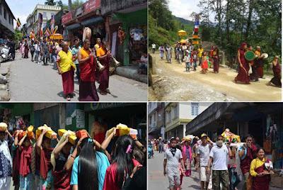 2560 Buddha Jayanti celebration in Mungpoo
