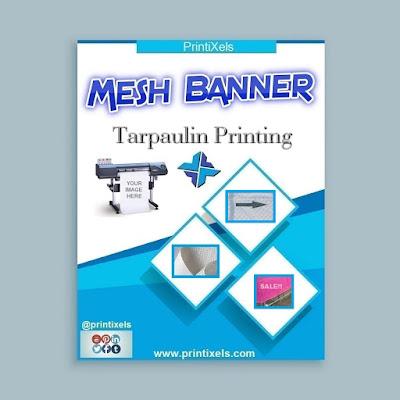 Mesh Tarpaulin Banner Printing