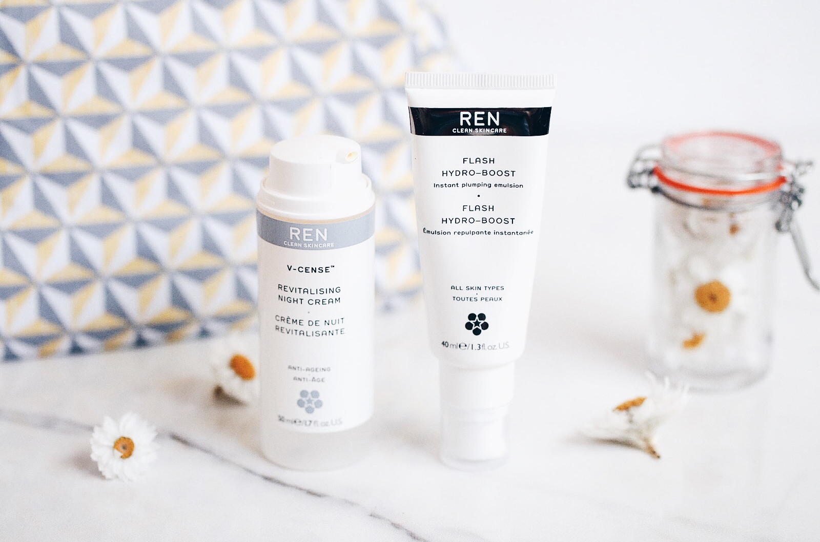 ren v cense creme revitalisante nuit flash hydra boost emulsion repulpante avis test