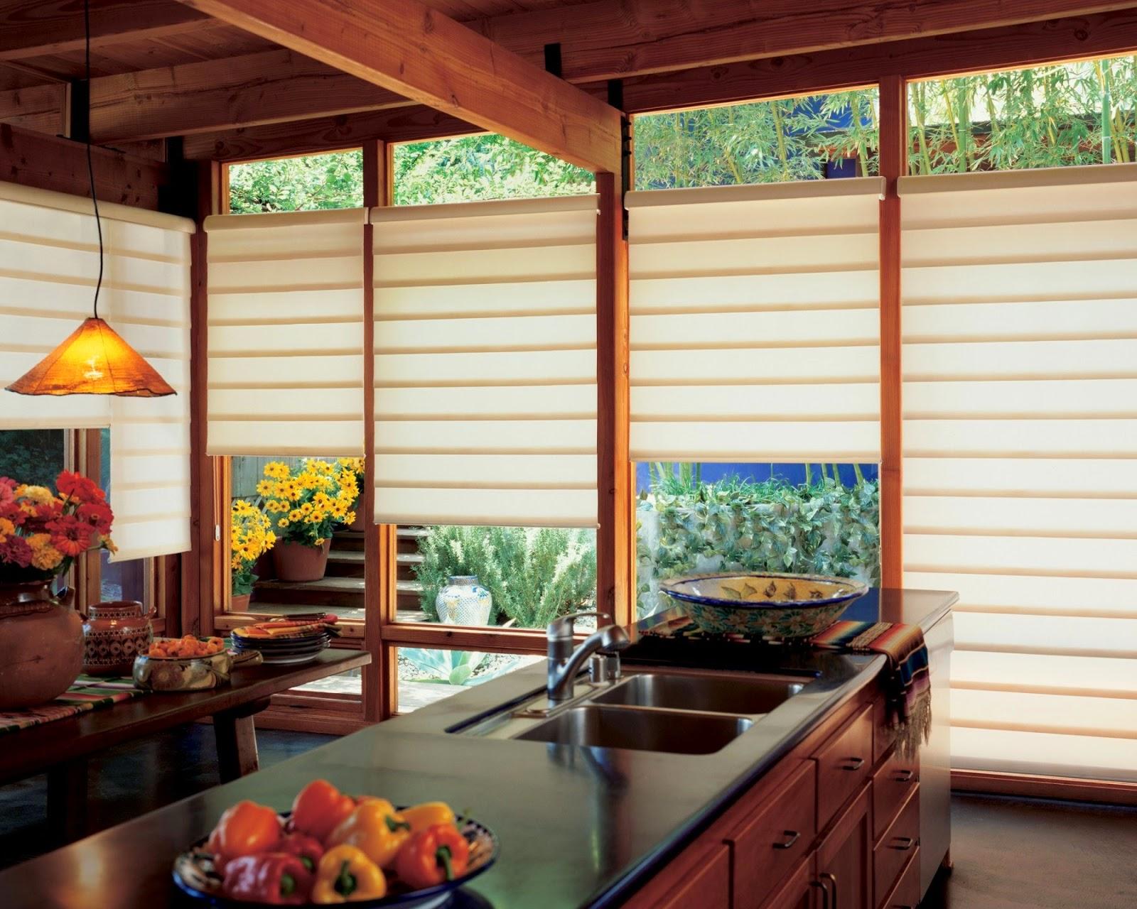 Curtain Ideas Contemporary kitchen curtains window treatments