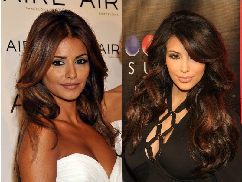 Brunette Hair Color Shades With Red Highlights - Hair Color ...