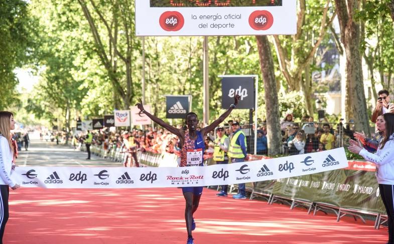 Reuben Kerio y Shasho Insermu ganan la Maratón Madrid 2019
