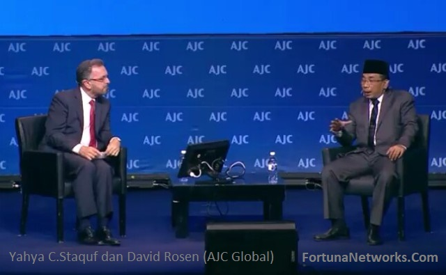 Inilah Video Kontroversi & Transkrip Lengkap Yahya Staquf Bicara di Israel,Tanpa Bahas Palestine