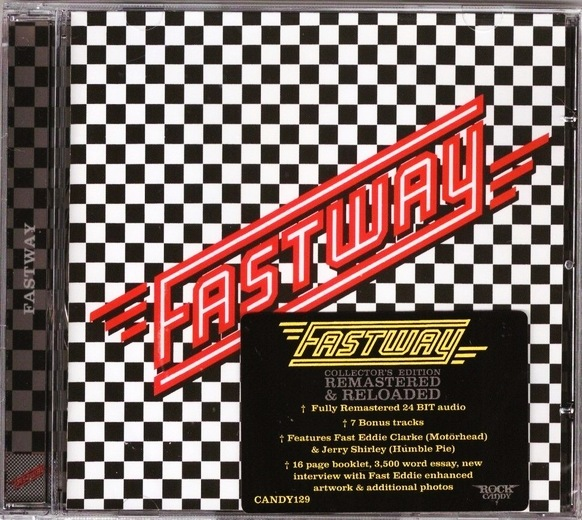 FASTWAY - Fastway [Rock Candy remaster +7] full