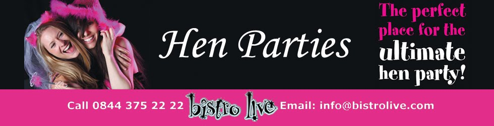 Hen Nights & Hen Parties at Bistro L!VE