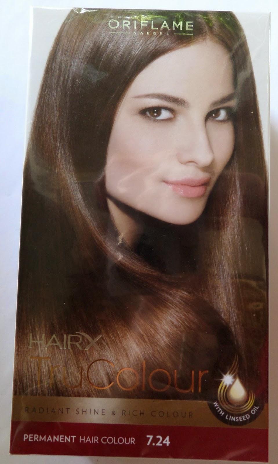 Vopseaua De Păr Hairx Trucolour Blond Arămiu Perlat De La Oriflame