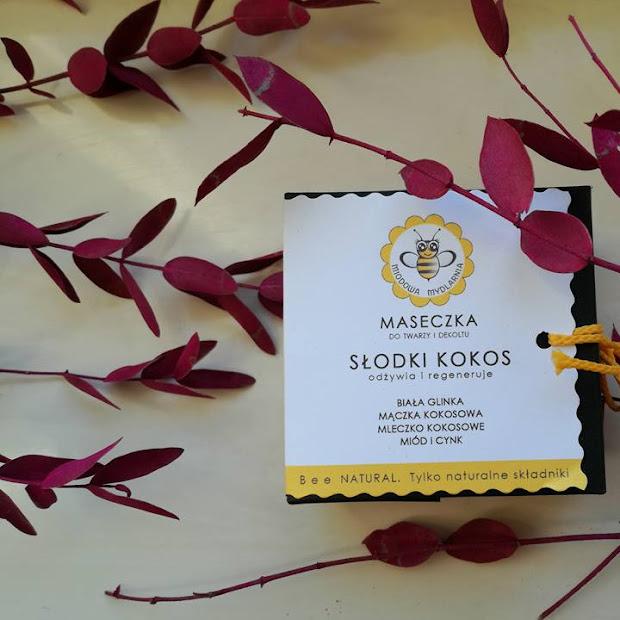 Miodowa mydlarnia - Maseczka Słodki Kokos