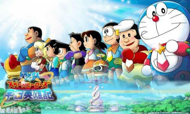Doraemon Movie 35: Nobita no Space Heroes BD Sub Indo