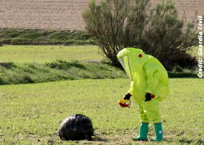 Mysterious Space Object Found in Field Murcia, Spain