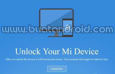 Cara Unlock Bootloader Semua Jenis Xiaomi