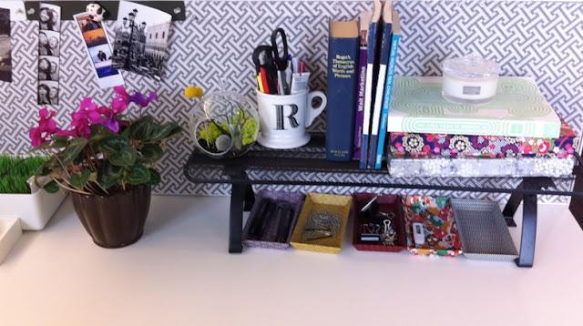 El Yapımı Küçük Ofis Süsleri