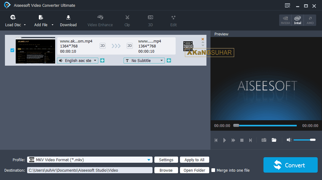 Download Aiseesoft Video Converter Ultimate Full Version