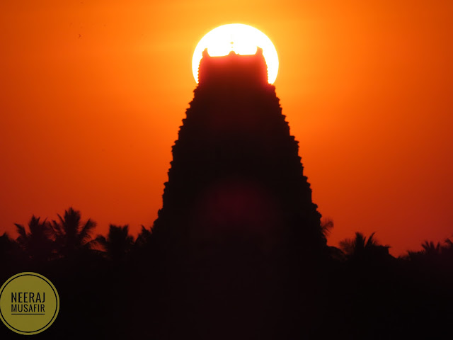 Best Sunset Location in Hampi