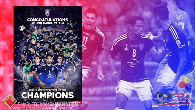 Cuti Khas Peristiwa Berikutan Kejayaan JDT Menjulang Piala FA Tahun 2016