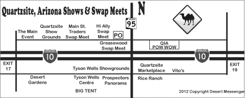 quartzsite swap meet 2014