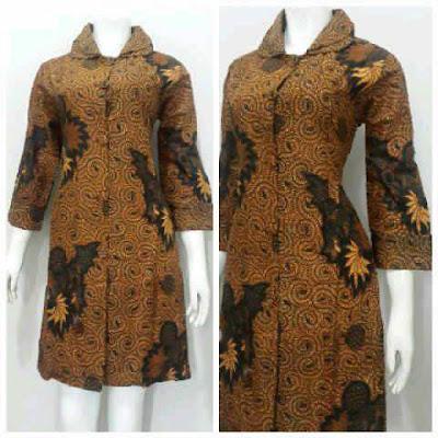 Gambar model baju batik wanita tradisional