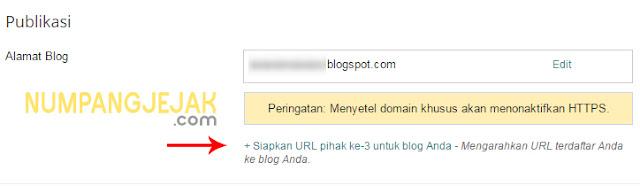 Cara mengganti domain blogspot di Niagahoster