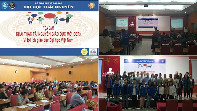 Tọa đàm: Khai thác Tài nguyên Giáo dục Mở với lợi ích giáo dục đại học ở Việt Nam tại Đại học Thái Nguyên