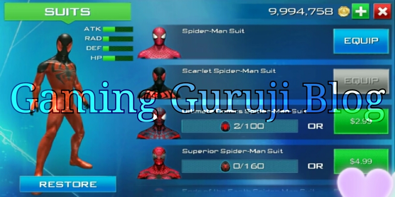 The Amazing Spider Man 2 Game in Android funz.com