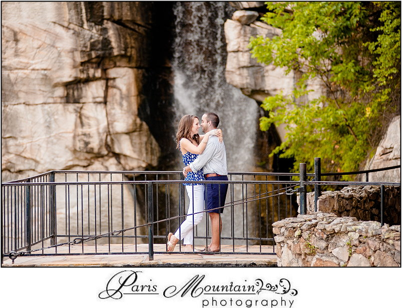Rock City Engagement Session Chattanooga Tn