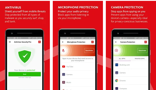 Aplikasi Antivirus Android Terbaik -  Avira