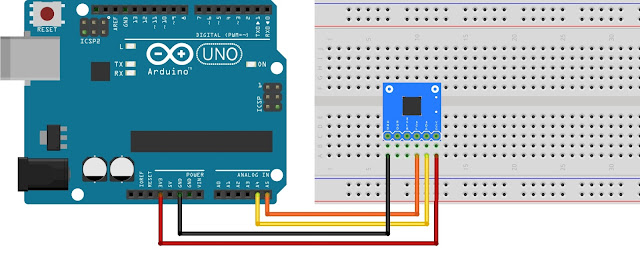 BMP085 Sensor Interface with Arduino