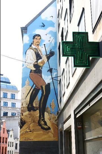 Mural Marini- Le Scorpion