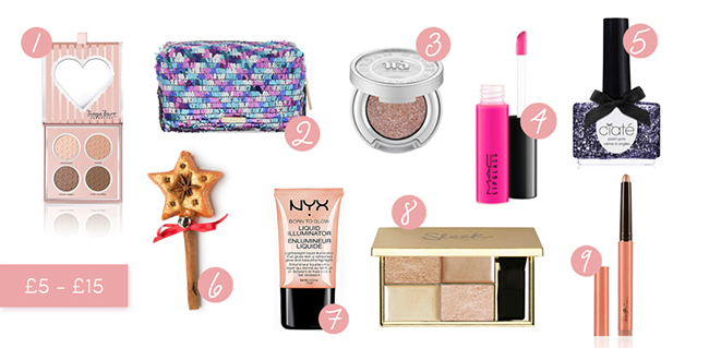 Beauty Gifts £5-£15