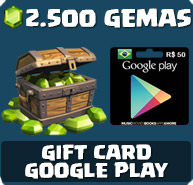 Comprar 2.500 Gemas Clash of Clans