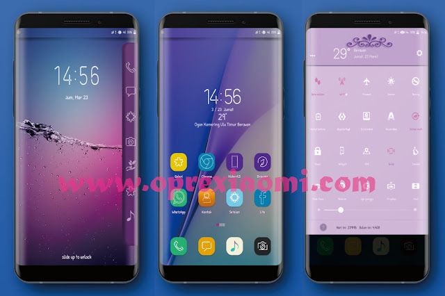 Download Tema S8 Purple theme Mtz Terbaru