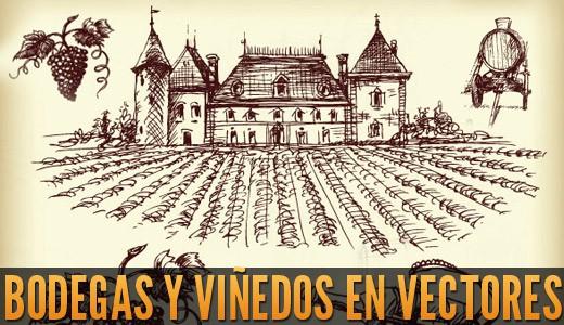 LA IMAGEN DEL DIA: bodegas vinos vectoriales gratis 3